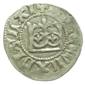 Władysław Jagiełło – półgrosz bez sygnatur (1408 r.)