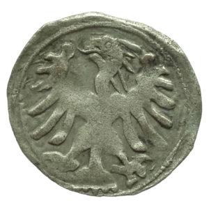 Aleksander Jagiellończyk – denar rzadki