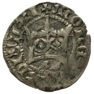 Władysław Jagiełło – półgrosz litery AS (1399-1402)