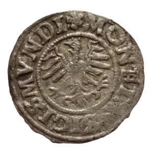 Zygmunt I Stary – trzeciak 1527 r. Kop. R2