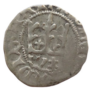 Władysław Jagiełło – półgrosz sygnatura W# (1412-1414 r.)