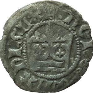 Władysław Jagiełło – półgrosz bez znaków mincerskich 1407r.
