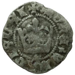 Władysław Jagiełło – półgrosz bez znaków mincerskich 1410-1412 r.