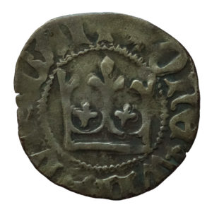 Władysław Jagiełło – półgrosz bez znaków mincerskich 1408-1410 r.