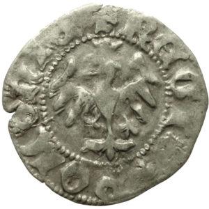 Władysław Jagiełło – półgrosz bez sygnatur 1410-1412 r.
